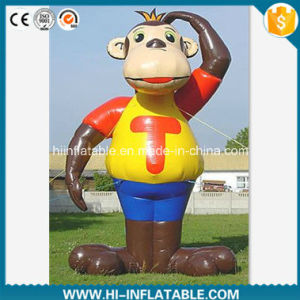 Custom Made Advertising Inflatable Monkey Cartoon / Mascot Model, Inflatable Animal Replicas Cartoon No. 12501 for Sale