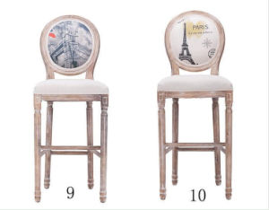 Bar Stool Solid Wooden Stool Modern Stool Dining Chairs (M-X2047) pictures & photos