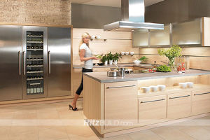 House Furniture New Design Home Kitchen Cabinet Wooden Cabinet