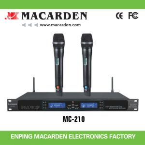 Competitive UHF Wireless Microphone (MC-210)