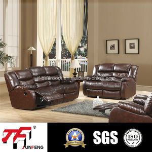 2016 Real Leather Recliner Sofa Jfr-4
