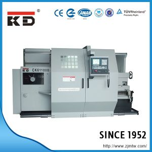 China High Precision Flat Bed CNC Lathe Machine Ck-61100b pictures & photos