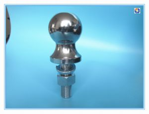 Hitch Ball Trailer Part with Black-Coated Surface Treatment pictures & photos