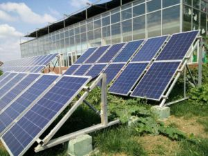 Distributed Roof Solar PV System