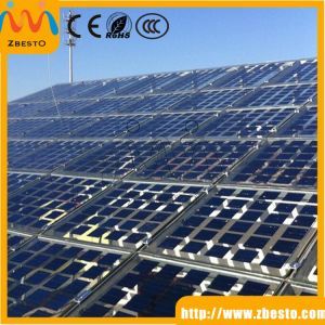 Full Tempered Low Iron Content Glass for Solar Panel Factory
