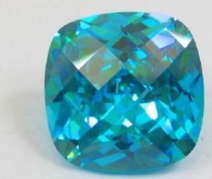 Nice Blue Cubic Zirconia Gemstone for Jewellery Setting