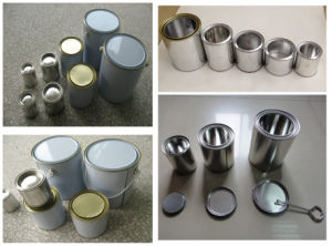 0.5L-5L Round Metal Chemical Paint Cans pictures & photos