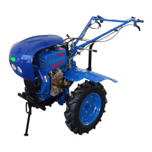 High Quality Factory Direct 10HP 6.3kw Diesel Engine Power Tiller pictures & photos