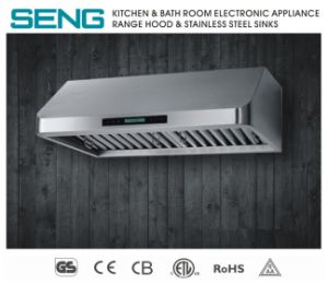 China 10g1 90cm Under Cabinet Stainless Steel Ductless Range Hood With Baffle Remote Control China Range Hood Price
