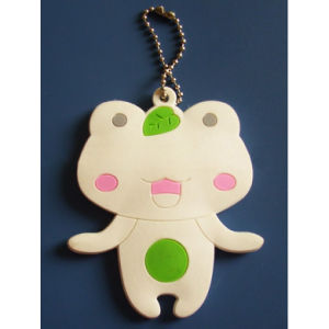 OEM Design Frog Soft Plastic Keychain pictures & photos