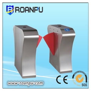Automatic Optical Pedestrian Flap Barrier Turnstile Gate Access Control Gate with CE & ISO (RAP-ST265)