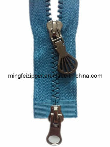 5# Resin Double-Open-End Zipper