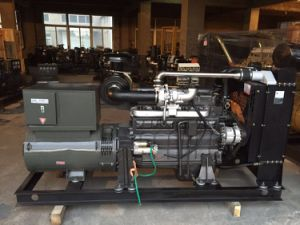 Open Type Cummins Ce Approved 50Hz 130kVA Diesel Generator (6BTAA5.9-G2)