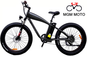 26*4.0 Fat Tire 500W Mountain Electric Bicycle pictures & photos