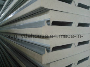 PU Wall Sandwich Panel / PU Roof Sandwich Panel (SD-230) pictures & photos