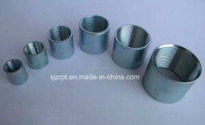 Black and Galvanzied Female Coupling Pipe Fittings pictures & photos