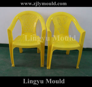 High Quality Armrest Chair Plastic Mould (LY160825)