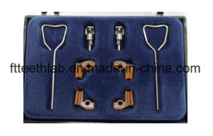 Preci-Vertix Dental Attachments with Metal Cast Partials From China Dental Lab pictures & photos