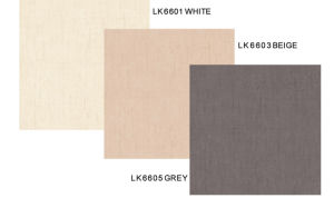 Building Material 600X600mm (Look Series: 5 colors LK6601-LK6605) Floor Tile Glazed Tile Porcelain Floor Tiles