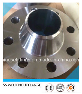 Stainless Steel Forged Weld/Welding Neck (WN) Flanges pictures & photos
