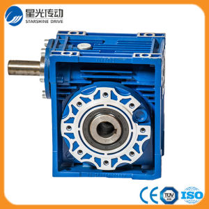 High Quality Aluminum Nrv Worm Reduction Gearbox pictures & photos