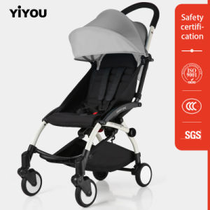 Yiyou En1888 Baby Stroller with Foldable and Detachable Canopy