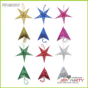 Colorful Star Lacer Paper Lantern Decorative Lanterns