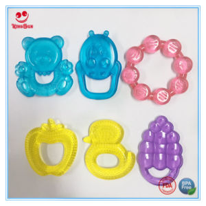Lovely Bear Design Water Filled Baby Teething Toys pictures & photos