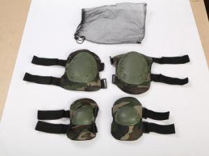 Military Outdoor Hiking Sports Tactical Nylon Elbow Pads Knee Pads pictures & photos