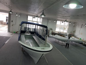 Liya 7.6m Fiberglass Boat for Transporting Goods and People with Outboard Motor pictures & photos
