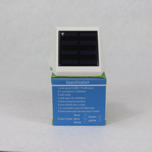 Security Solar Wall Light with Motion Sensor pictures & photos