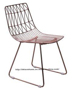 Replica Restaurant Leisure Furniture Garden Metal Dining Side Wire Chair