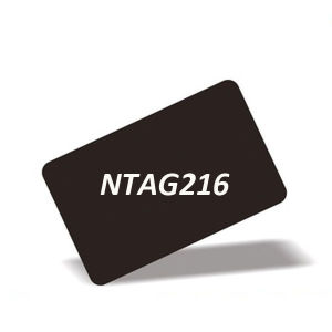 ISO18092 13.56MHz RFID NTAG 216 NFC Card for Cashless Payment