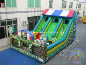 2017 Inflatable Military Playground for Children