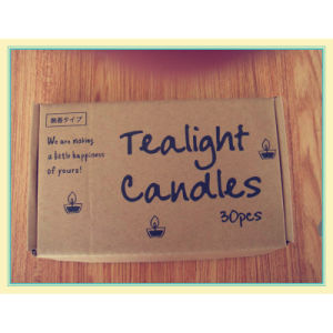 Scented Travel Tin Candle with Kraft Box Packing