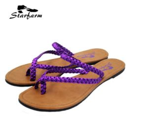 Promotional Summer Beach Lady Flip Flops