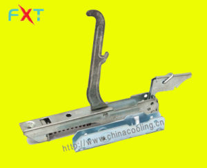 Oven Door Hinge with Support Zinc Coating