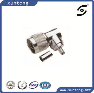N Connector Male LMR300 Cable Connector N Male Clamp Radio Frequency pictures & photos