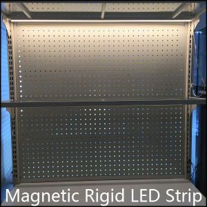 Magnetic Rigid LED Strip with Sliding Magnets