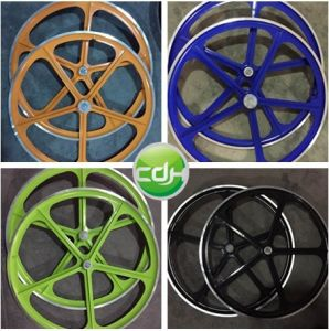 Colorful Aluminum Rim, Motorized Bicycle Wheels pictures & photos