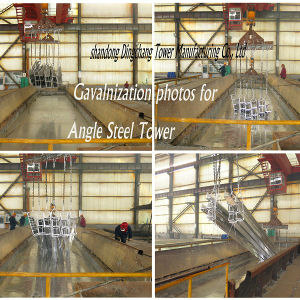 Hot DIP Galvanizing Steel Tube Tower pictures & photos