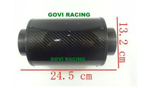 Real Carbon Air Filter Element with 76mm Mororcycle Universal Air Filter pictures & photos