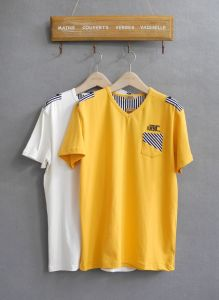 Summer Casual T-Shirts in Stock, Fashion Stock Clothes pictures & photos