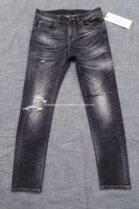 Cuff Urban Denim Jeans (HS-28101T)
