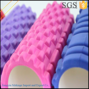 2 in 1 Foam Roller for Muscle Massage with Grid
