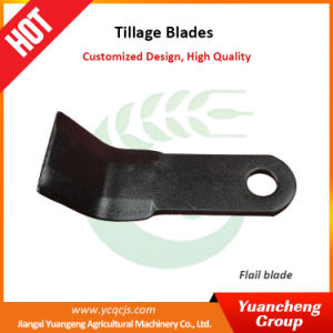 Flail Mower Blades Long Lasting Rotavator Used Rotary Tiller Blade