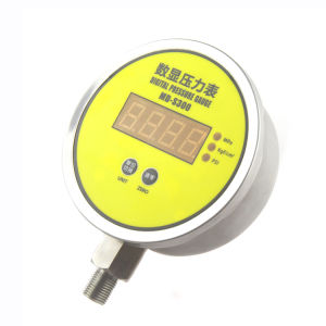 MD-S300e Radial Direction Mounting High Precision Water, Oil, Gas Digital Pressure Gauge