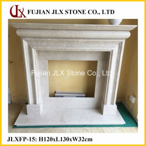 Morden Marble Stone Fireplace Mantel