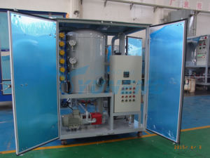 China Famous Brand Vacuum Transformer Oil Filtration Machine pictures & photos