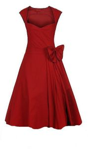 Women′s UK Vintage Designer Style Prom Wedding Guests Red Dresses pictures & photos